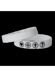 Armband weiß fluoreszierend...
