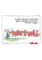 5 Postkarten Life.de -...